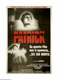 "Movie Posters:Horror, Patrick (Australian International Film Corp., 1978). Italian4-Foglio (55"" X 78""). Even though Patrick is in a coma, he can ..."