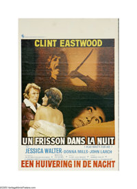 """Play Misty For Me (Universal, 1971). Belgian Poster (14"""" X 21""""). Here is an original poster for this stalker t..."""