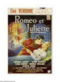 """Movie Posters:Drama, Romeo and Juliet (United Artists, 1954). Belgian Poster (14.5"""" X21.5""""). This is the Belgian poster for the 1954 Italian-Eng..."""