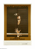 """Movie Posters:Thriller, Tightrope (Warner Brothers, 1984). Argentine One Sheet (29"""" X 43"""").Detective Wes Block (Clint Eastwood) is hunting down a s..."""