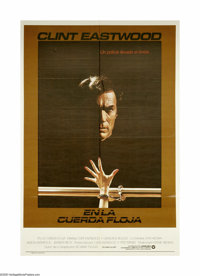 "Tightrope (Warner Brothers, 1984). Argentine One Sheet (29"" X 43""). Detective Wes Block (Clint Eastwood) is hu..."