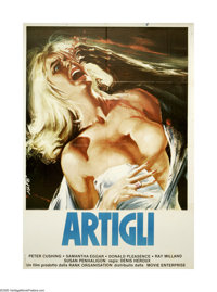 """The Uncanny (Rank, 1977). Italian 2-Folgio (39"""" X 55""""). A horror anthology that tries to show that cats are re..."""