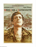 """Movie Posters:War, Weekend at Dunkirk (Consortium Pathe, 1964). French Petite (23.5"""" X31.5"""").Here is an original poster for this war drama sta..."""