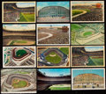 Autographs:Post Cards, New York Yankees / Yankee Stadium Postcard Lot of 12.. ...