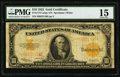 Large Size:Gold Certificates, Fr. 1173 $10 1922 Gold Certificate PMG Choice Fine 15....