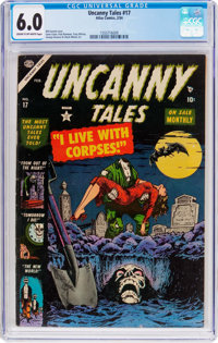 Uncanny Tales #17 (Atlas, 1954) CGC FN 6.0 Cream to off-white pages