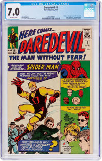 Daredevil #1 (Marvel, 1964) CGC FN/VF 7.0 Off-white pages