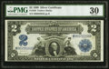 Large Size:Silver Certificates, Fr. 256 $2 1899 Silver Certificate PMG Very Fine 30.