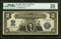 Large Size:Silver Certificates, Fr. 258 $2 1899 Silver Certificate PMG Choice Very Fine 35...