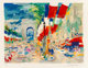 LeRoy Neiman (American, 1921-2012) Paris Arc II Serigraph in colors on wove paper 18 x 23-3/4 inches (45.7 x 60.3 cm)