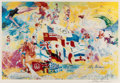 Fine Art - Work on Paper:Print, After LeRoy Neiman . Montreal Olympics, poster, 1976. Ink jet in colors on paper. 20 x 30 inches (50.8 x 76.2 cm) (sight...