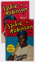 Golden Age (1938-1955):Non-Fiction, Jackie Robinson #2 and 5 Group (Fawcett Publications, 1950-52)....(Total: 2 Comic Books)