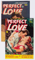 Golden Age (1938-1955):Romance, Perfect Love #3 and 6 Group (Ziff-Davis, 1951-52) Condition:Average VF/NM.... (Total: 2 Comic Books)