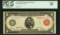 Large Size:Federal Reserve Notes, Fr. 836b $5 1914 Red Seal Federal Reserve Note PCGS Very Fine 20.. ...