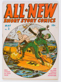 Golden Age (1938-1955):War, All-New Comics #3 (Harvey, 1943) Condition: VG/FN....