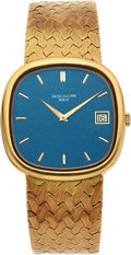 Estate Jewelry:Watches, Gentleman's Patek Philippe Ref. 3604/1 Ellipse Gold Watch. ...