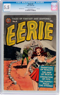Golden Age (1938-1955):Horror, Eerie #4 (Avon, 1951) CGC FN- 5.5 Cream to off-white pages....