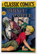 Golden Age (1938-1955):Classics Illustrated, Classic Comics #29 The Prince and the Pauper - First Edition(Gilberton, 1946) Condition: VF+....