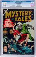 Golden Age (1938-1955):Horror, Mystery Tales #17 (Atlas, 1954) CGC VG/FN 5.0 Off-white pages....