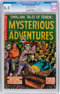 Golden Age (1938-1955):Horror, Mysterious Adventures #21 (Story Comics, 1954) CGC FN+ 6.5 Cream tooff-white pages....