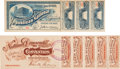 Political:Small Paper (pre-1896), [Benjamin Harrison and William Jennings Bryan]:1888 and 1896National Convention Tickets with Original Stubs. ... (Total: 2Items)
