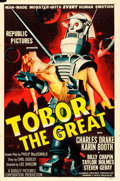 "Movie Posters:Science Fiction, Tobor the Great (Republic, 1954). One Sheet (27"" X..."