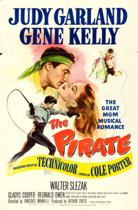 "The Pirate (MGM, 1948). One Sheet (27"" X 41"")"