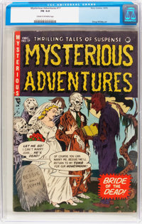 Mysterious Adventures #17 (Story Comics, 1953) CGC FN 6.0 Cream to off-white pages