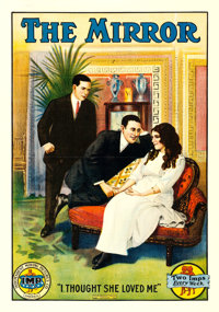 "The Mirror (IMP, 1911). One Sheet (29.5"" X 42"")"