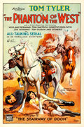 Movie Posters:Serial, The Phantom of the West (Mascot, 1931). Autographe...