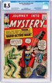 Journey Into Mystery #93 (Marvel, 1963) CGC VF+ 8.5 White pages