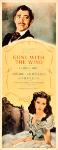 Movie Posters:Academy Award Winners, Gone with the Wind (MGM, 1939). Roadshow Insert (1...