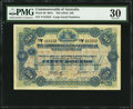 World Currency, Australia Commonwealth of Australia £50 ND (1918) Pick 8d R67c.. ...