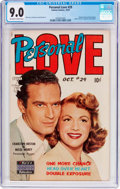 Golden Age (1938-1955):Romance, Personal Love #29 (Famous Funnies Publications, 1954) CGC VF/NM 9.0Off-white to white pages....
