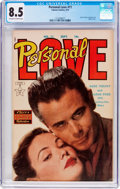 Golden Age (1938-1955):Romance, Personal Love #11 (Famous Funnies Publications, 1951) CGC VF+ 8.5Off-white to white pages....