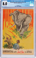 Silver Age (1956-1969):Adventure, Bowhunting with Fred Bear in Africa nn (Bear Archery Company, 1963) CGC VF 8.0 Off-white to white pages....