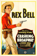 "Movie Posters:Western, Crashing Broadway (Monogram, 1932). One Sheet (27"" X 41"").. ..."