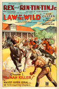 "Movie Posters:Serial, Law of the Wild (Mascot, 1934). One Sheet (27.25"" X 41"") Chapter 1 -- ""The Man Killer."". ..."