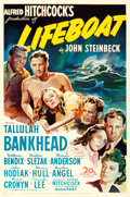 """Movie Posters:Hitchcock, Lifeboat (20th Century Fox, 1944). One Sheet (27"""" X 41"""").. ..."""
