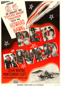 "Movie Posters:Western, Red River (United Artists, 1948). Swedish One Sheet (27.5"" X 39"")Eric Rohman Design.. ..."