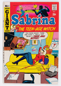 Sabrina The Teen-Age Witch #1 (Archie, 1971) Condition: FN/VF