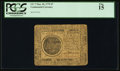 Continental Currency May 10, 1775 $7 PCGS Fine 15
