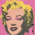 Prints & Multiples, After Andy Warhol . Marilyn Invitation (Castelli Graphics), 1981. Offset lithograph in colors on smooth wove paper. 7 x ...