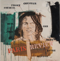 Larry Rivers (1925-2002) Untitled (Paris Review), 1991 Screenprint in colors on wove paper 28-3/8