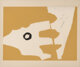 Robert Motherwell (1915-1991) Untitled, from X + X (Ten Works by Ten Painters), 1964 Screenprint with collage in color...