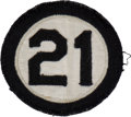 "Baseball Collectibles:Others, 1973 Roberto Clemente ""21"" Memorial Patch. . ..."