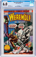 Bronze Age (1970-1979):Horror, Werewolf by Night #32 (Marvel, 1975) CGC FN 6.0 Off-white to whitepages....