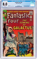 Silver Age (1956-1969):Superhero, Fantastic Four #48 (Marvel, 1966) CGC VF 8.0 Off-white pages....