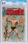 Silver Age (1956-1969):Superhero, The Sub-Mariner #1 (Marvel, 1968) CGC VF+ 8.5 Off-white to white pages....