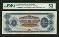 Australia Commonwealth of Australia 10 Shillings ND (1913) Pick 1Ac R1a. Serial Number 89 Presentation Note